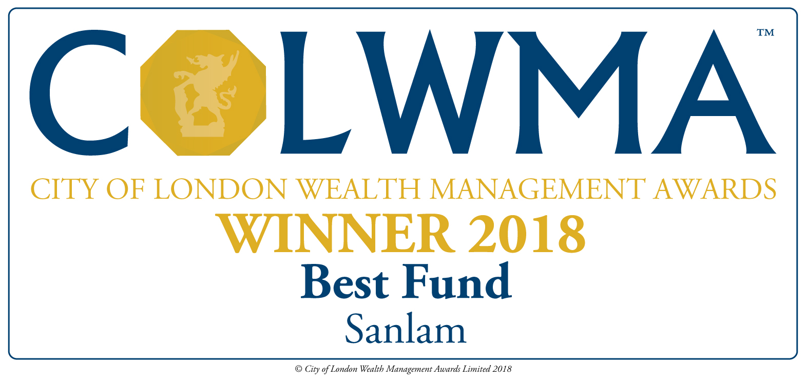 City of London Wealth Management Awards 2018