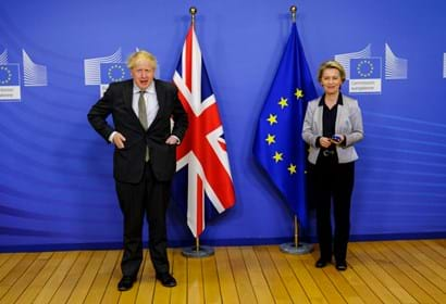 UK and EU agree landmark trade deal